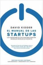 Portada del libro El manual de las startups