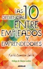 Portada del libro Las 10 diferencias entre empleados y emprendedores
