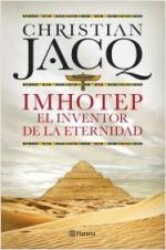 Portada del libro Imhotep. El Inventor de la Eternidad