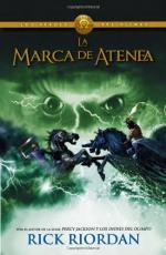 Portada del libro La marca de Atenea (Los héroes del Olimpo 3)