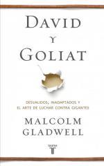 Portada del libro David y Goliat