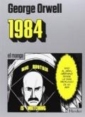 Portada del libro 1984. El manga