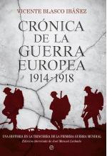Portada del libro Crónica de la guerra europea