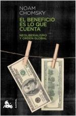 Portada del libro El beneficio es lo que cuenta
