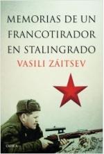 Portada del libro Memorias de un francotirador en Stalingrado