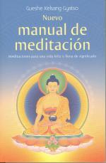 Portada del libro Nuevo manual de meditación