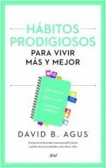 Portada del libro Hábitos prodigiosos para vivir más y mejor