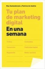 Portada del libro Tu plan de marketing digital en una semana