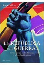 Portada del libro La república  en guerra