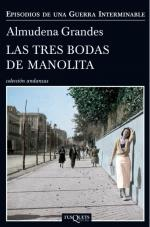 Portada del libro Las tres bodas de Manolita