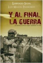 Portada del libro Y al final, la guerra