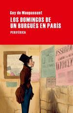 Portada del libro Los domingos de un burgués en París