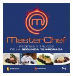 Portada del libro Masterchef, recetas y trucos de la segunda temporada
