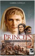 Portada del libro Princeps. El primer ciudadano de Roma