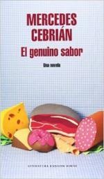 Portada del libro El genuino sabor