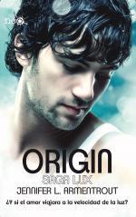 Portada del libro Origin. Saga Lux 4