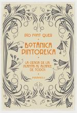 Portada del libro Botánica pintoresca