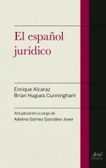 Portada del libro El español jurídico