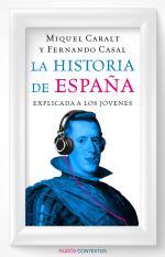 Portada del libro La historia de España explicada a los jóvenes