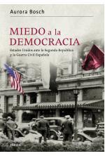 Portada del libro Miedo a la democracia