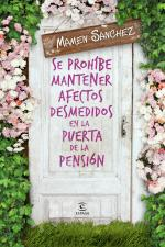 Portada del libro Se prohíbe mantener afectos desmedidos a la puerta de la pensión