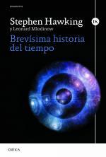 Portada del libro Brevísima historia del tiempo