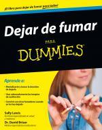 Portada del libro Dejar de fumar para Dummies