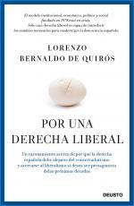 Portada del libro Por una derecha liberal