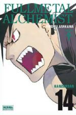 Portada del libro Fullmetal alchemist kanzenban 14