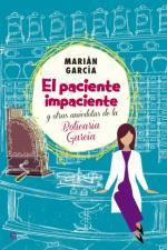 Portada del libro El paciente impaciente y otras anécdotas de la Boticaria García