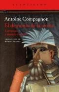 Portada del libro El demonio de la teoría. Literatura y sentido común