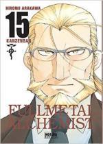Portada del libro Fullmetal alchemist kanzenban 15