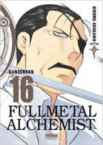 Portada del libro Fullmetal alchemist kanzenban 16
