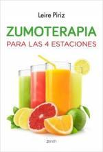Portada del libro Zumoterapia para las cuatro estaciones