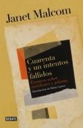 Portada del libro Cuarenta y un intentos fallidos