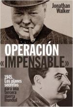 Portada del libro Operación impensable