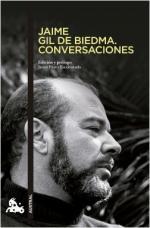 Portada del libro Jaime Gil de Biedma. Conversaciones