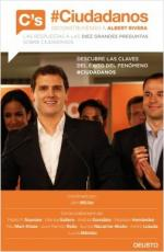 Portada del libro #Ciudadanos. Deconstruyendo a Albert Rivera