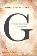 Portada del libro G (la novela de Gaudí)