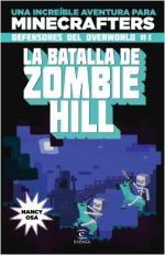 Portada del libro Minecraft. La batalla de Zombie Hill