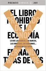 Portada del libro El libro prohibido de la economía