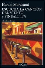 Portada del libro Escucha la canción del viento y Pinball 1973
