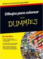 Portada del libro Dibujos para colorear para Dummies