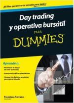 Portada del libro Day trading y operativa bursátil para Dummies