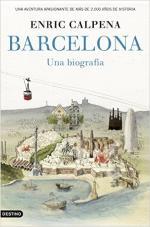 Portada del libro Barcelona, una biografía
