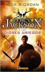 Portada del libro Percy Jackson y los Dioses Griegos