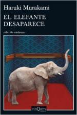 Portada del libro El elefante desaparece