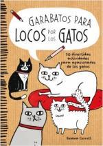 Portada del libro Garabatos para locos por los gatos