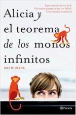 Portada del libro Alicia y el teorema de los monos infinitos