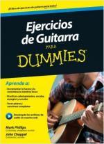 Portada del libro Ejercicios de guitarra para Dummies